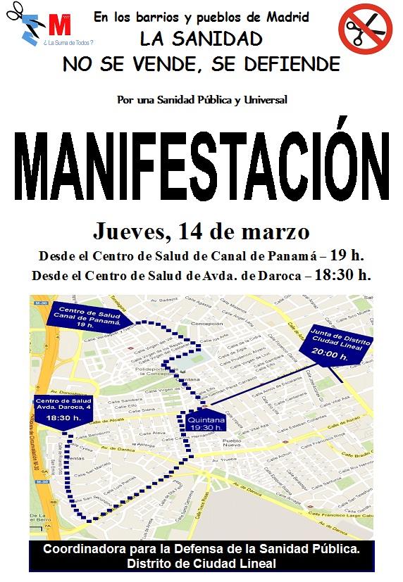Manifestacion14MarzoSanidad