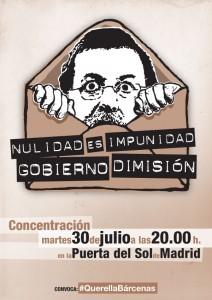 contra la impunidad-gobierno dimision 30-7-2013