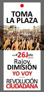 rajoy dimision 26-7-2013