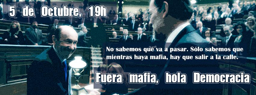 #5O Fuera mafia, hola democracia